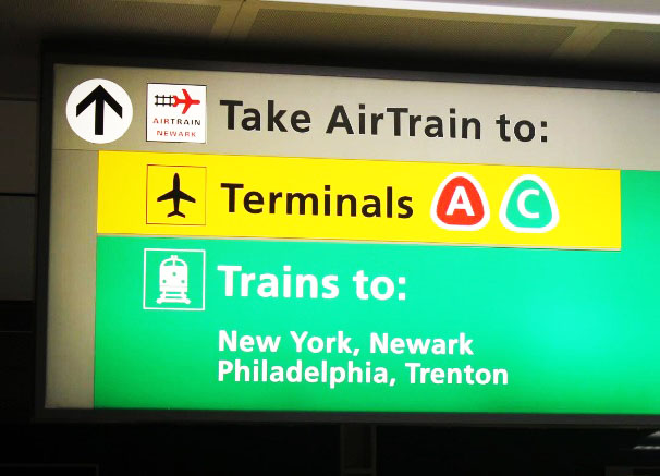 Nyc Subway Map Airtrain.Nyc Subway Guide Getting Into New York City From The Airports