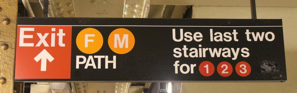 how to create subway signs